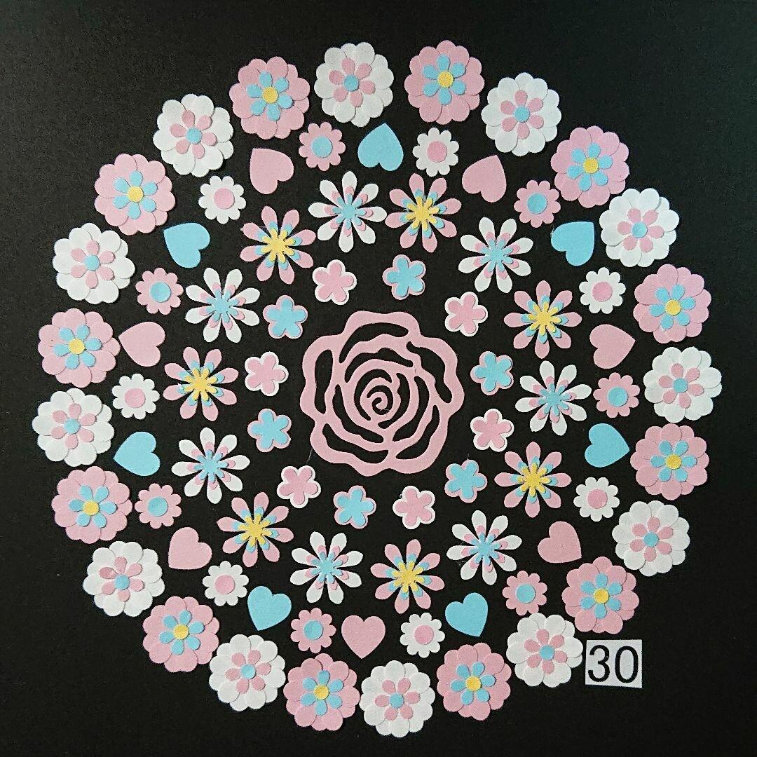 クラフトパンチ お花(30)