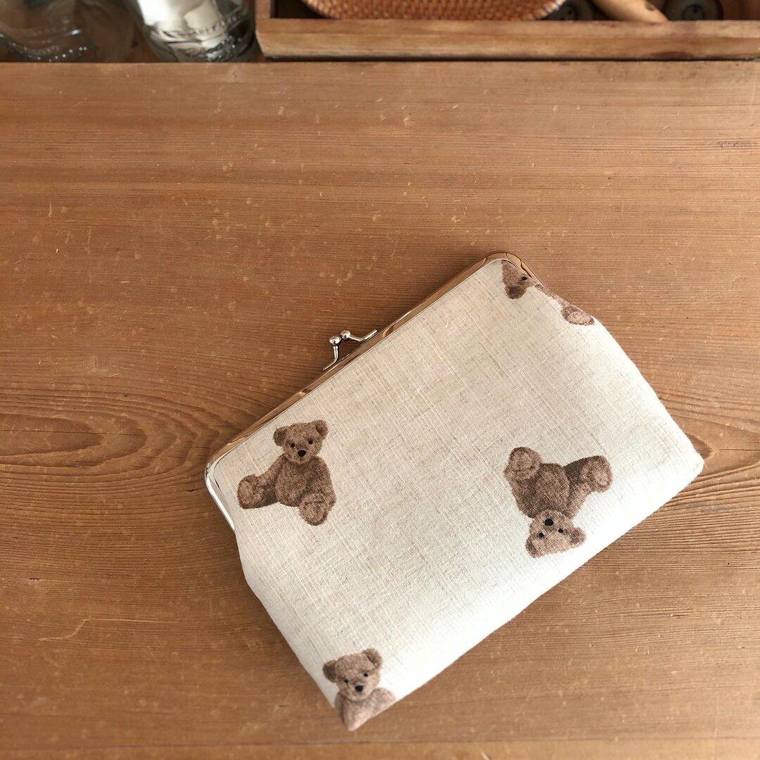 クマさん母子手帳ケース・通帳ケース