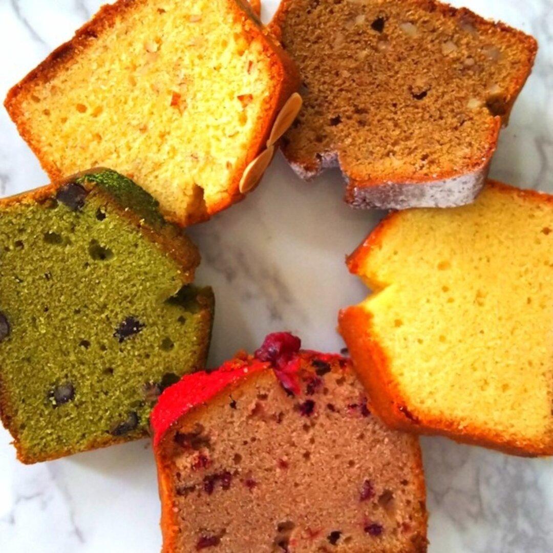 「美容ケーキ」グルテンフリーパウンドケーキ