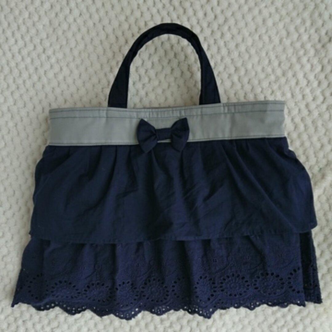 【送料無料】☆かわいいフリルとリボン付きのバッグ☆女の子
