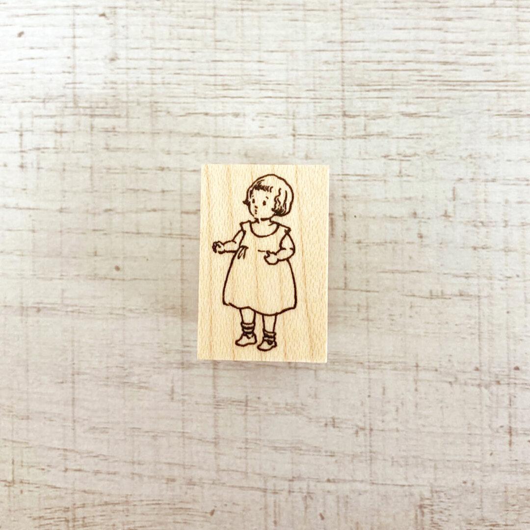 No.85 Dress-up Girl ハンコ