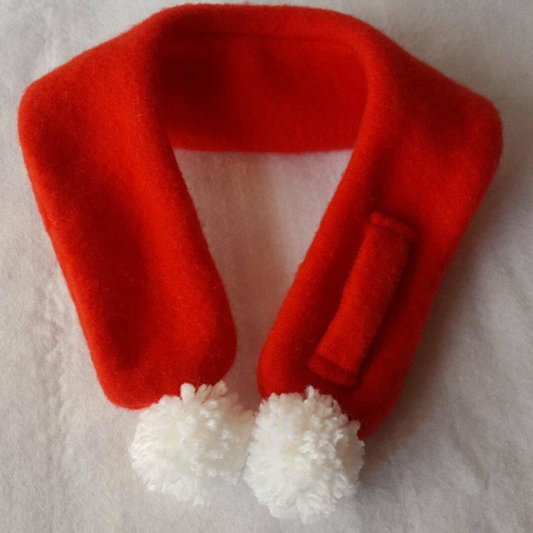 いぬ  ねこ  ぬいぐるみ クリスマス用 マフラー オリジナル ハンドメイド