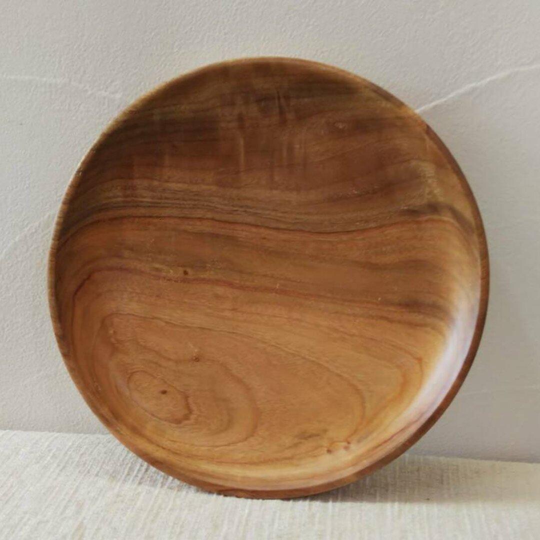 *欅の木で作ったお皿C*
