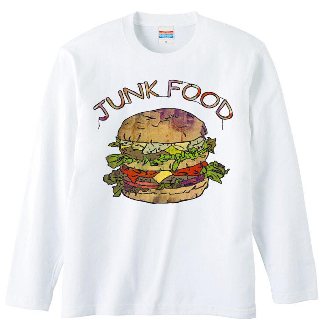 [ロングスリーブTシャツ]  Hamburger