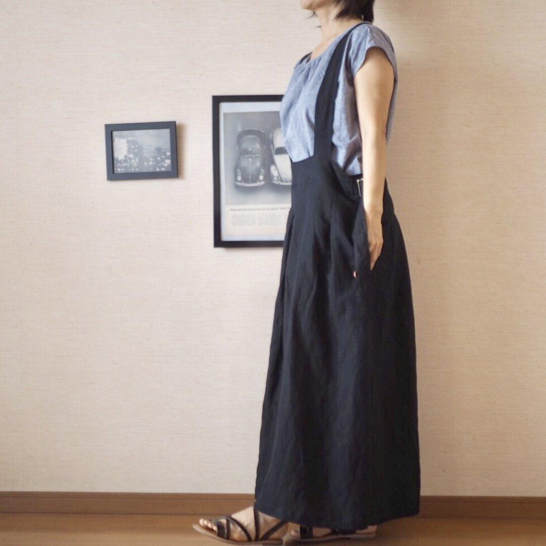 吊りスカートドレス No.67
