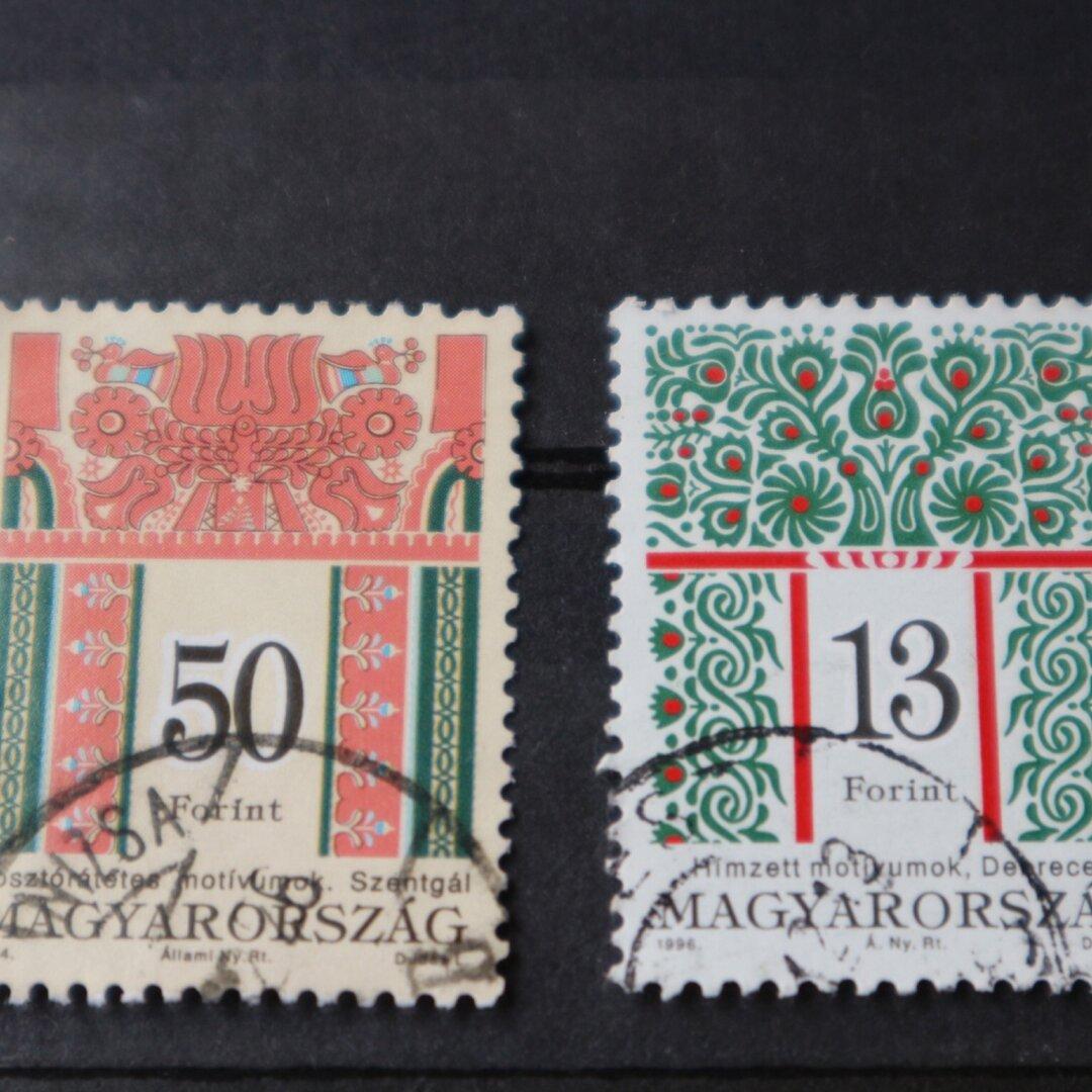 刺繍 切手