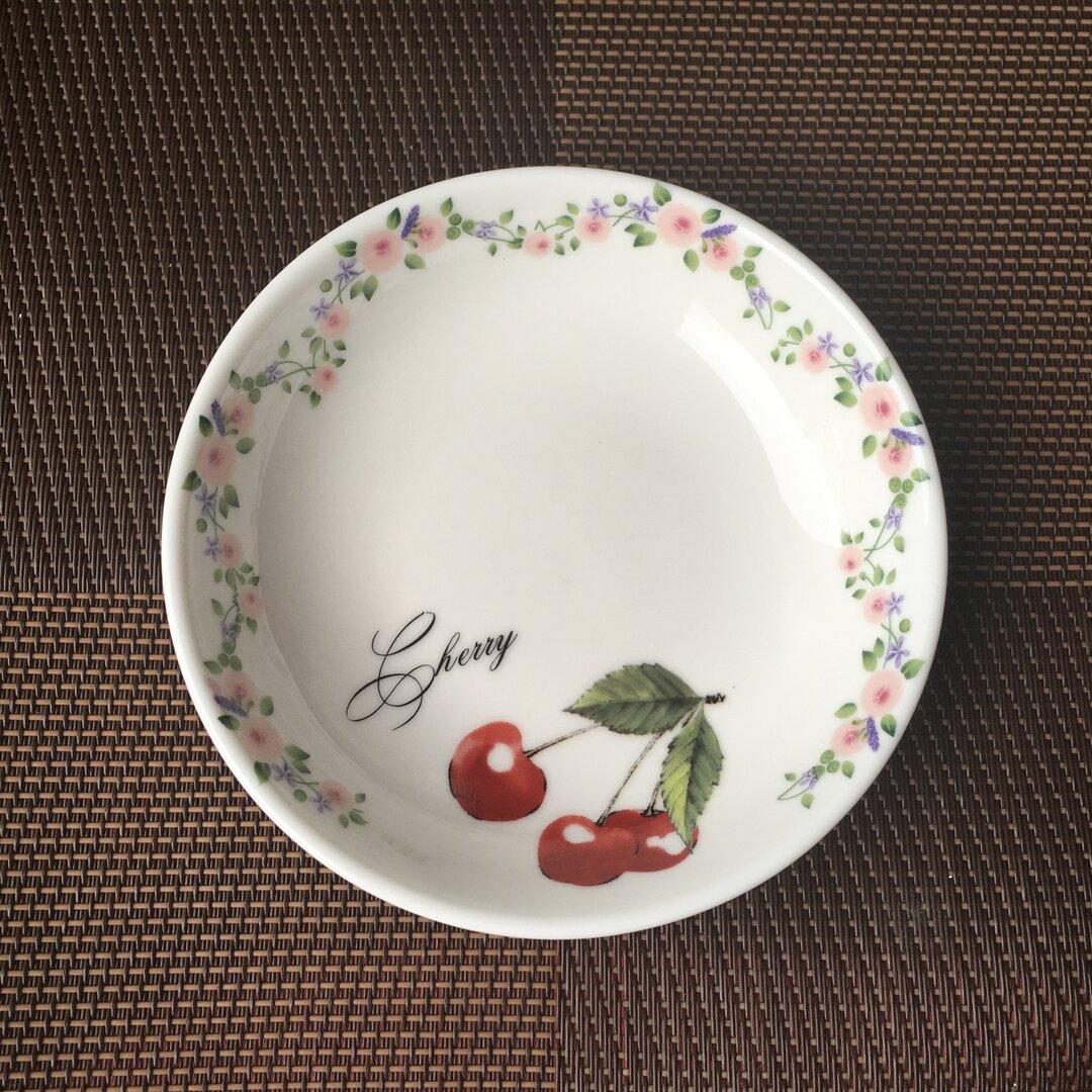 さくらんぼ チェリー 小皿 豆皿 1枚