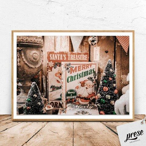 サンタクロースの贈り物、メリークリスマス