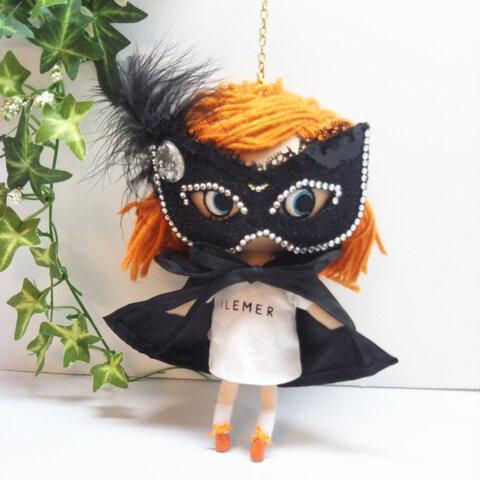 マスカレードマスク&ドラキュラマント(ショート丈) イーマリーちゃん