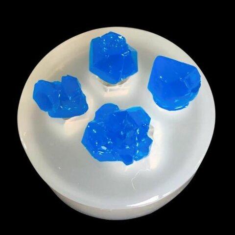 シリコンモールド 鉱石(結晶石 タイプ)  レジン 型 モールド 鉱物 レジン パーツ