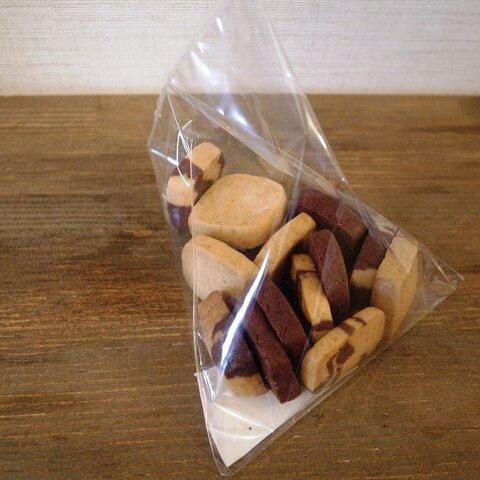 さんかく袋のてづくりクッキー