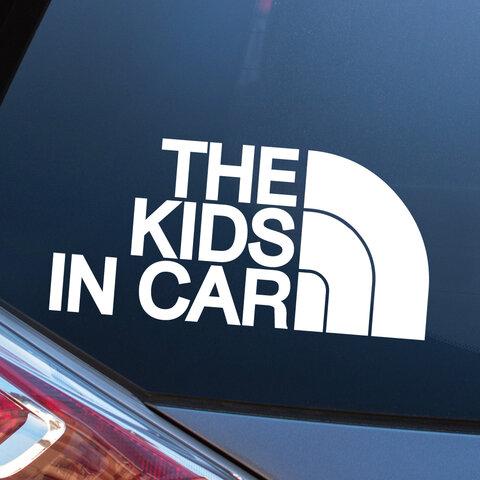 KIDS IN CAR キッズインカー カーステッカー カーサイン キッズ 赤ちゃん 子供 車 ベイビー BABY チャイルド  おしゃれ かわいい ギフト 500円 送料無料