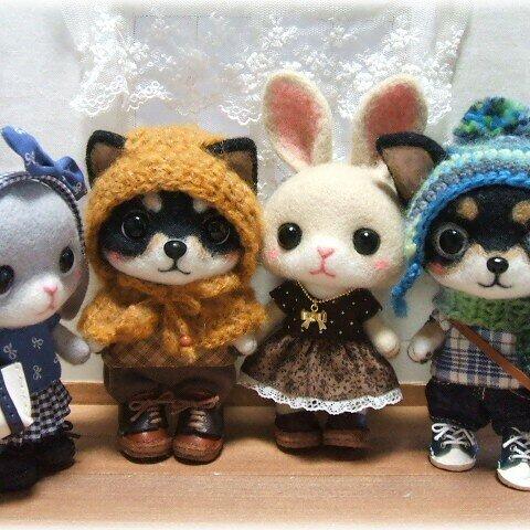 【オーダーメイド】羊毛フェルトのマスコット*オーダーページ