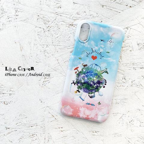 Wonderful World iPhoneケース スマホケース 空 iPhone13 iPhone12