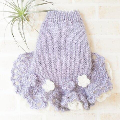 MS💜99犬☆猫用手編みセーター