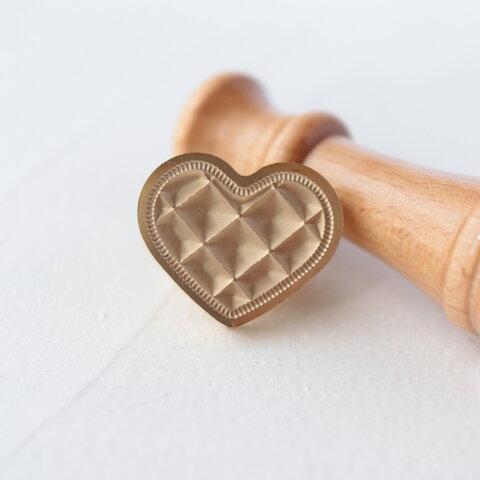 シーリングスタンプ  ┆  Heart   (ヘッドのみ)