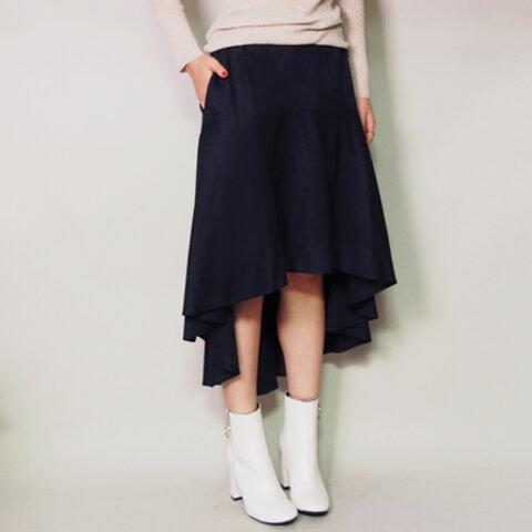 マーメイドスカート ネイビー