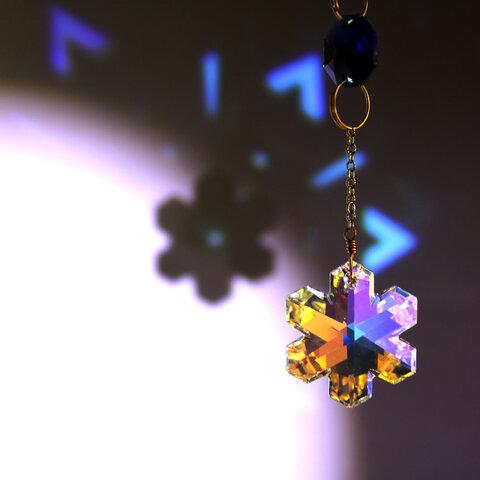 【数量限定】白夜のサンキャッチャー ☆ Swarovski Crystal使用