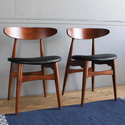 【送料無料】Oscar Dining Chair / 2Chair Set
