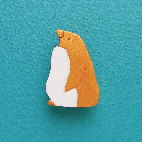 【受注生産】CLASSICペンギン ブローチ