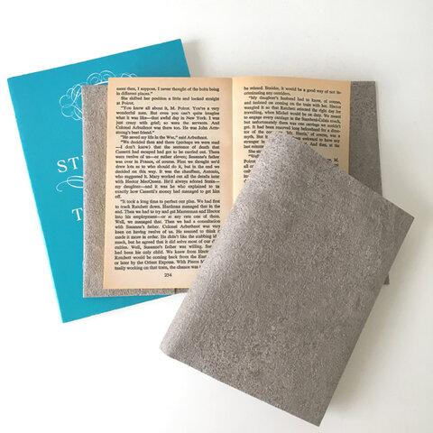コンクリートブックカバー BOOK COVER CONCRETE Simpler 文庫本/新書判/四六判/B6判/A5判/手帳/オーダーサイズ