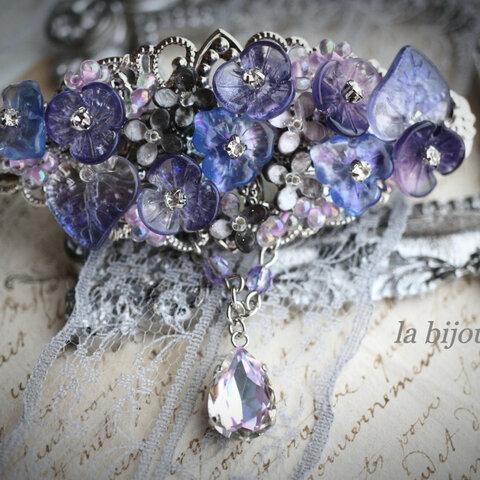 菫色の魔女 バレッタ
