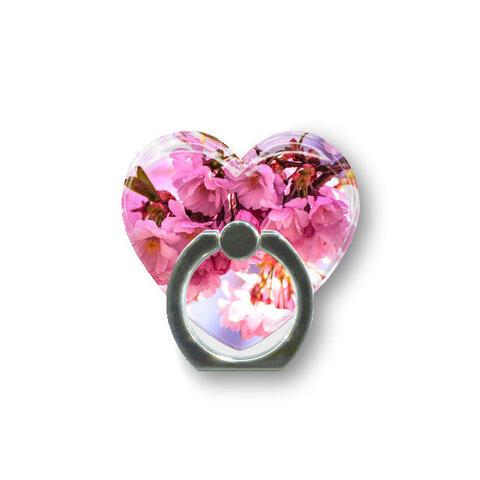 桜20  ハートスマホリング