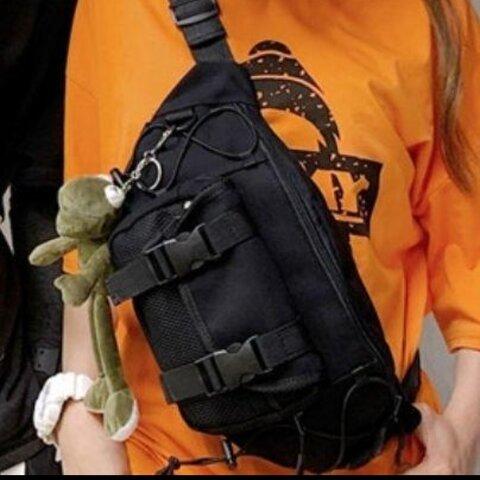 新品 ウエストポーチ 男女兼用 ウエストバッグ