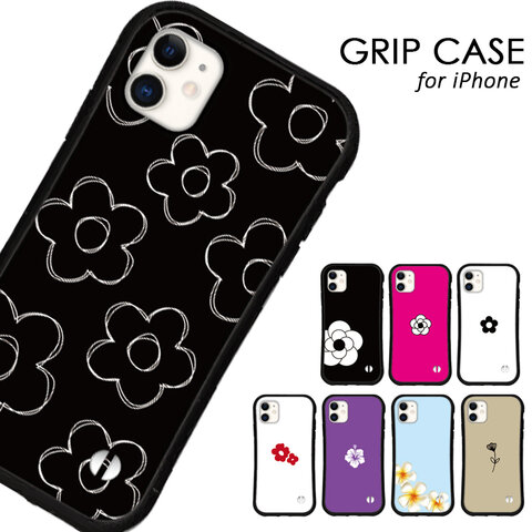 送料無料 iPhoneケース iPhone13 12 pro mini iPhone11 xr xs se 第二世代 iface型 カバー スマホケース グリップケース アイフォン 花柄 特集