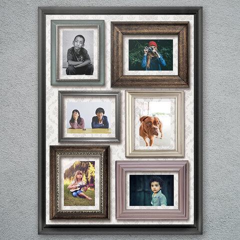 写真が飾れるポスター「シャシンカベのポスター」A2サイズ -FreamMix- ☆送料無料☆