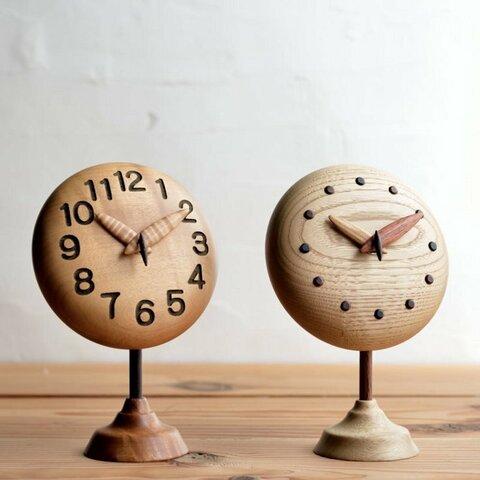 ぷっくりキュートな置き時計