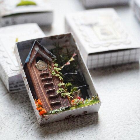マッチ箱の中の小さな世界 *ラベル装飾*