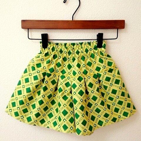 【110】春色キュロットスカート