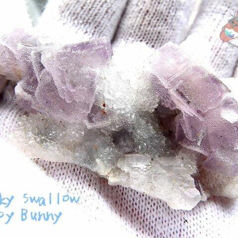 ⚒️ フローライトクラスター標本 結晶 原石 標本 コレクション用 No.3022