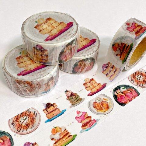 パンケーキ マスキングテープ