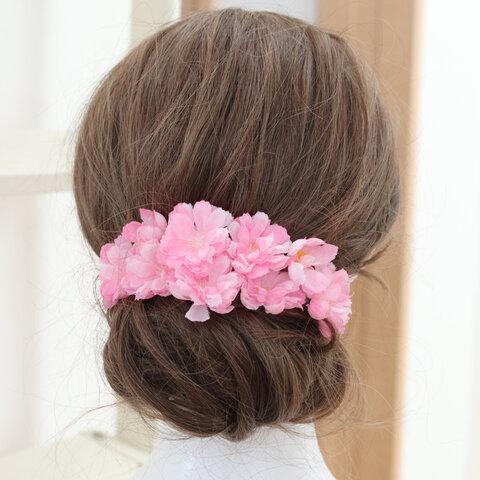 桜の髪飾り☆ヘッドパーツ☆ヘッドドレス成人式 卒業式 入学式髪飾り