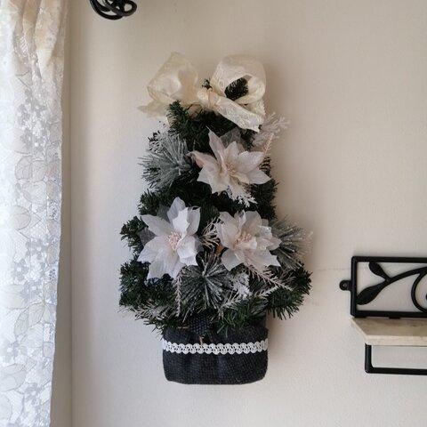 エレガントな方へ 映ますよ!毎年可愛い!置けたり 掛けたり♡クリスマスツリー