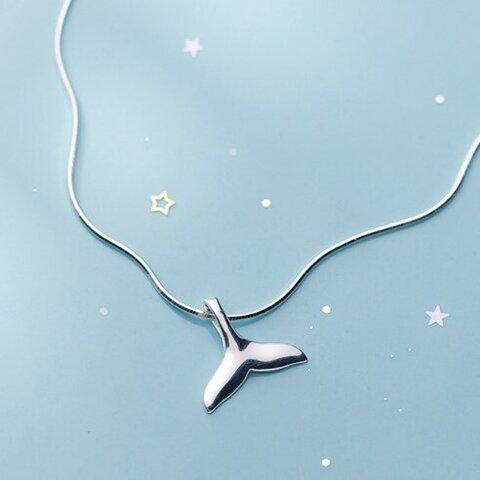 <受注制作>クジラのアンクレット 可愛い 夏 海 0353