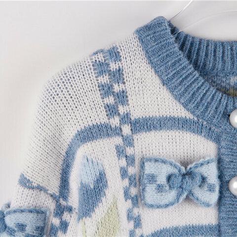 受注制作  秋と冬*大人のセーター コート〠
