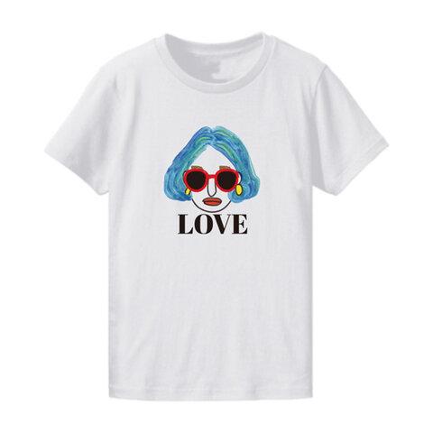 """レディーズ_Tシャツ・""""LOVE"""""""