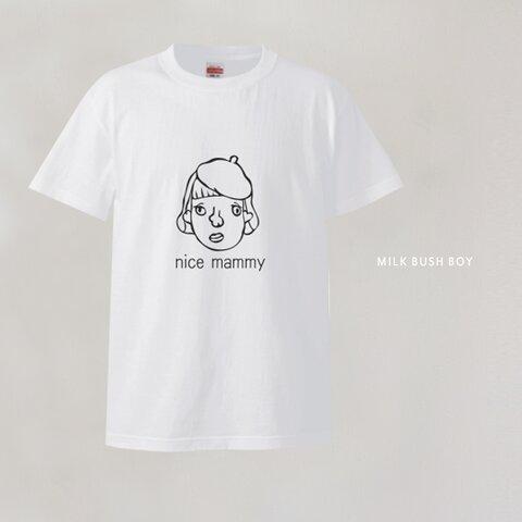【OTONA Tシャツ】 nice mammy
