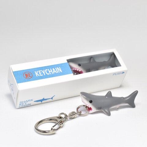 旅するサメのキーホルダー