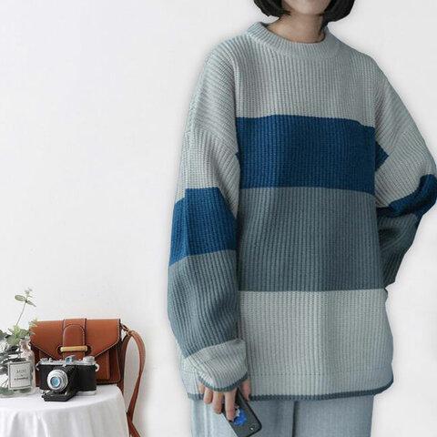手編み ニットトップス  ニット  タートルネック  タートルニット  着痩せ 長袖  ポケット  暖かい  レディース