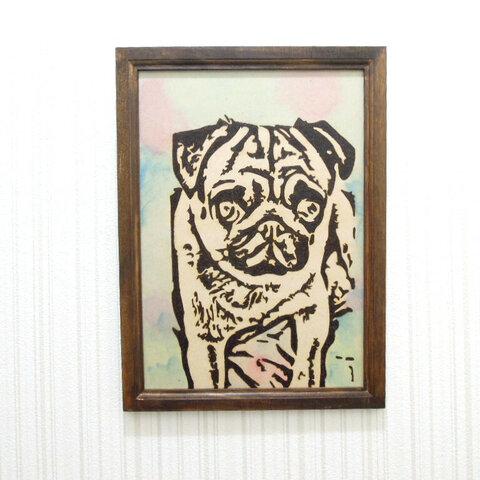 犬の壁掛け1