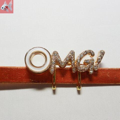 ◆OMG!の帯留め飾り