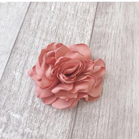 ◆送料無料!フラワー造花・7cm・ピンク系【2個入り】