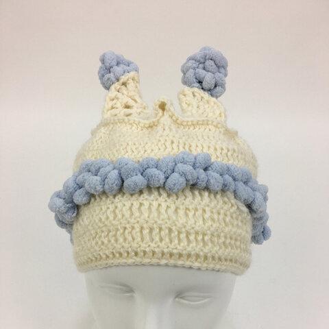 ニット帽✴︎春の虫歯菌