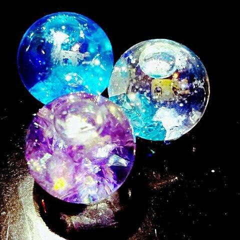 数量限定✨液体オーロラ ガラスドーム