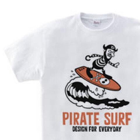 【再販】海賊~SURF~ WM~WL•S~XL Tシャツ【受注生産品】