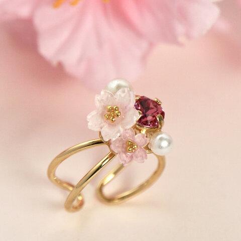 桜✴︎bijouのリング